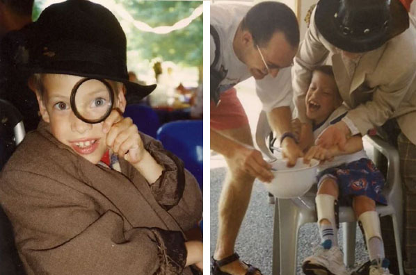 How a passion for helping others started at Easter Seals Camp