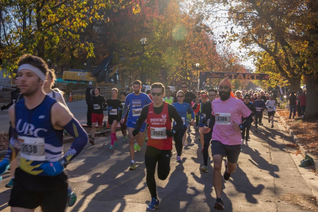 2018 Fall Classic Run at UBC – Nov 4th
