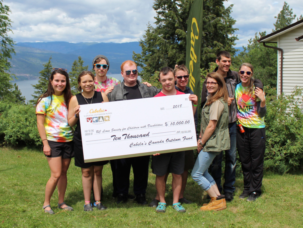 Cabela's First Outdoor Fund donation in B.C. goes to Easter Seals Camps