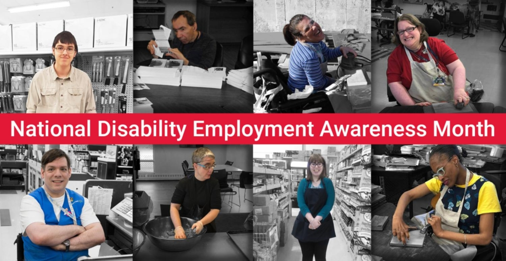 OCTOBER 2019: EASTER SEALS CELEBRATES NATIONAL DISABILITY EMPLOYMENT AWARENESS MONTH