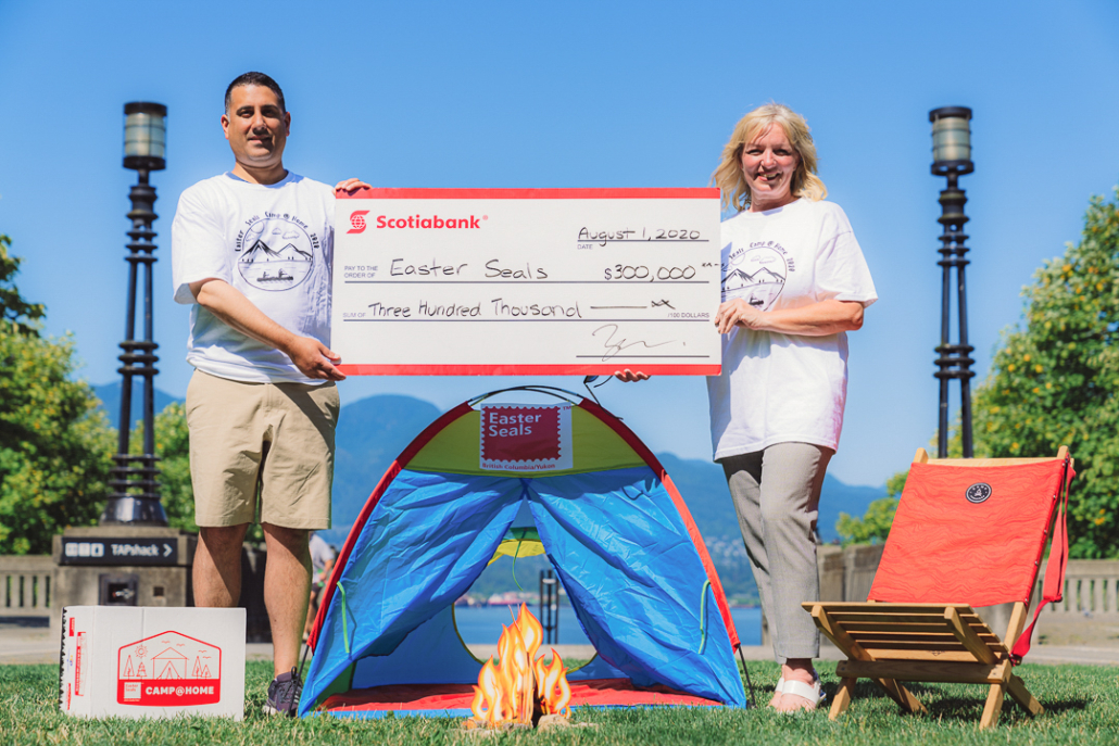 Scotiabank donates $300,000 to empower youth at Easter Seals summer camps