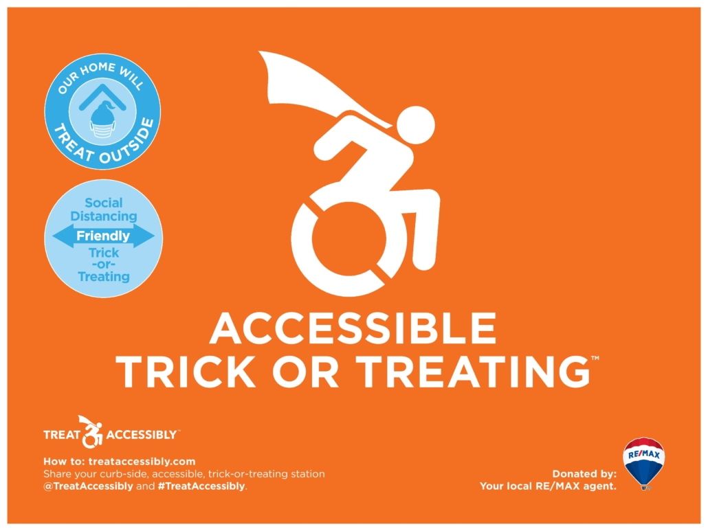 Accessible & Social Distancing Trick-or-Treating Solutions