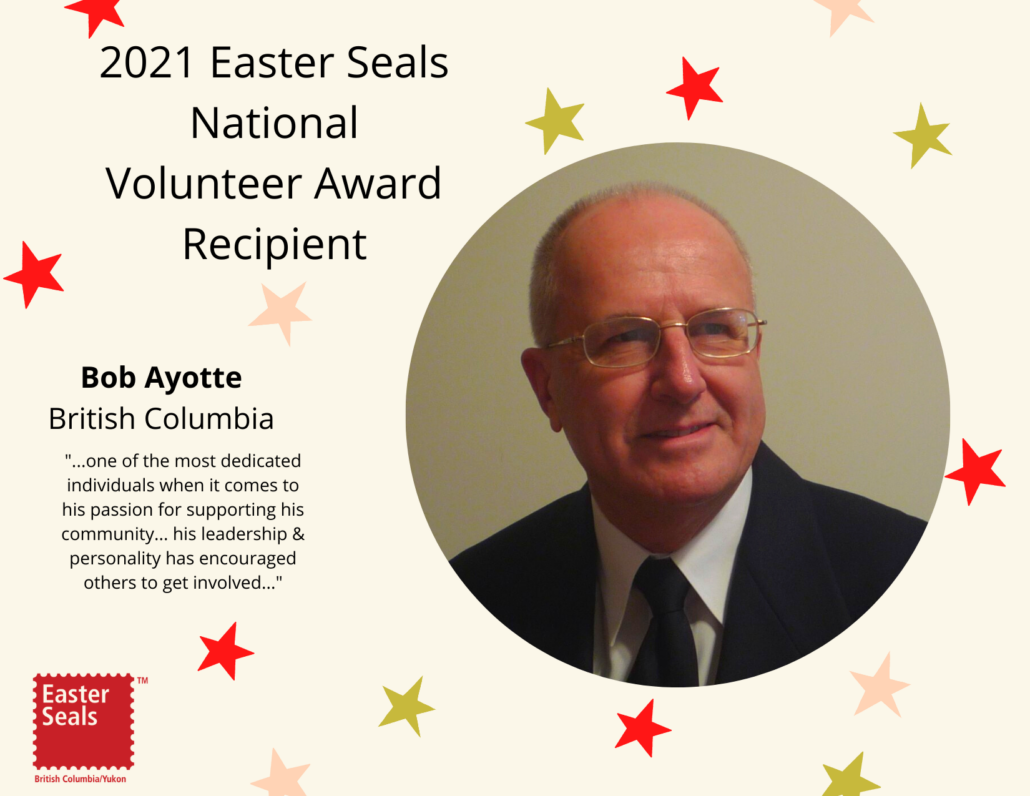 2021 Easter Seals National Volunteer Award Recipient